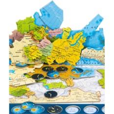 Географический пазл Карта России