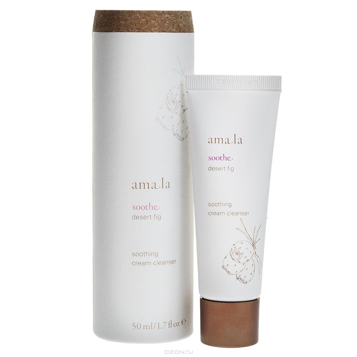 Крем для лица Amala, очищающий, успокаивающий, 50 мл