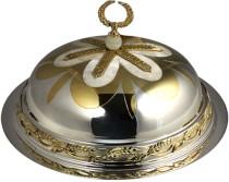 Серебряная хлебница Царская