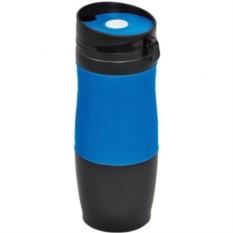 Синяя вакуумная термокружка Удача