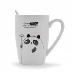 Кружка Панда с чайной ложкой