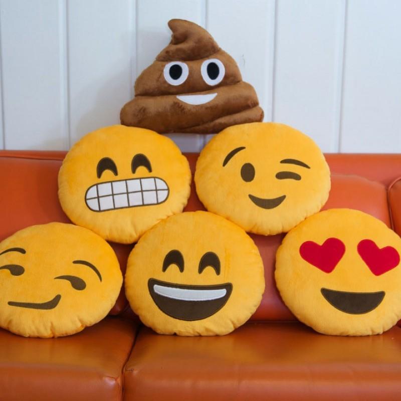 Подушки Emoji