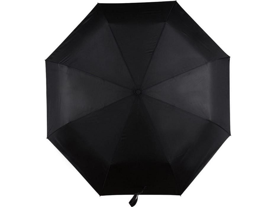 Складной автоматический зонт, черный