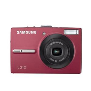 Цифровой фотоаппарат Samsung L210 Red