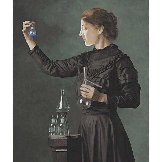 Портрет Женщина ученый
