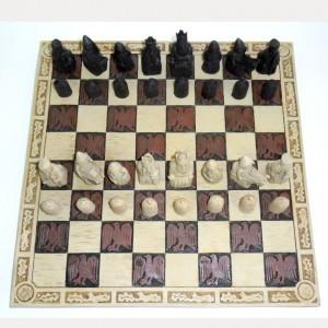 Шахматы из полистоуна Кочевники