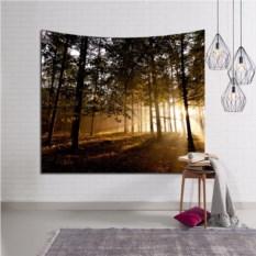 Декоративное панно на стену Утро в лесу