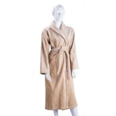 Бежевый женский халат Кэнби