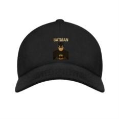 Черная бейсболка Batman