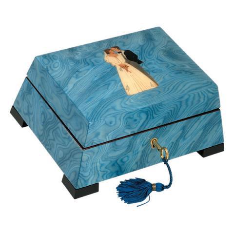 Музыкальная шкатулка для украшений