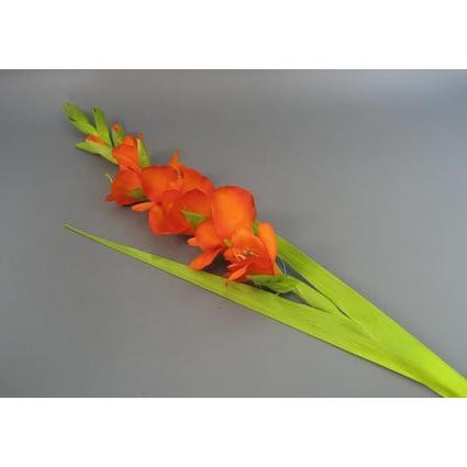 Цветок искусственный гладиолус