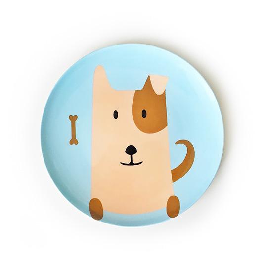 Тарелка Furry Dog