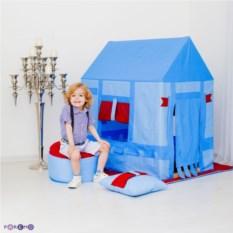 Домик-палатка с пуфиком для мальчика Замок Бристоль