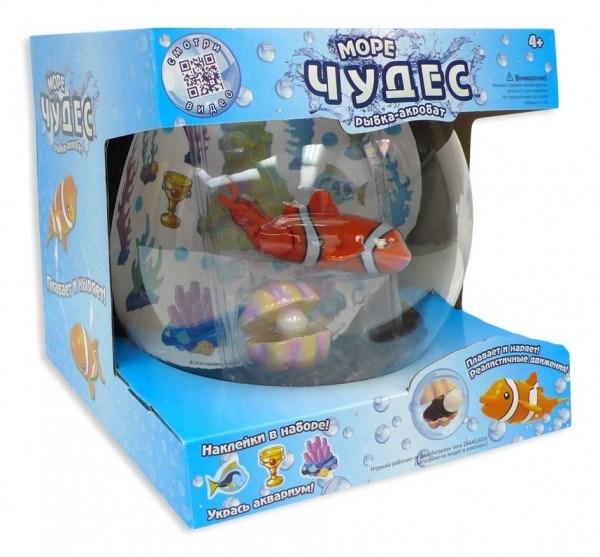 Игрушка Рыбка-акробат с аквариумом