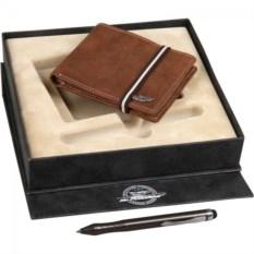 Подарочный набор: портмоне и ручка