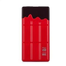 Внешний аккумулятор 7000 mAh Momax iPower Chocolatier Red