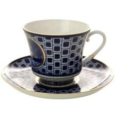 Чашка с блюдцем Прачечный мостик (фарфор)
