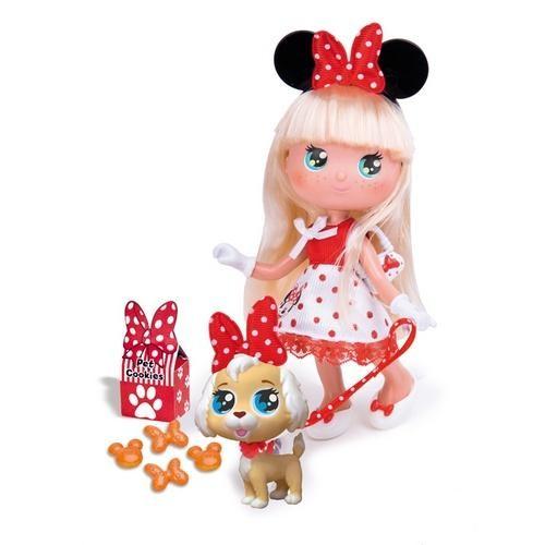 Кукла Минни блондинка с собачкой, Famosa