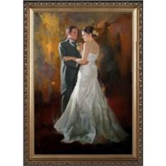 Шикарный свадебный портрет