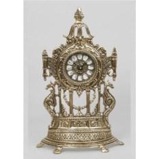 Часы-половинки с драконами из бронзы