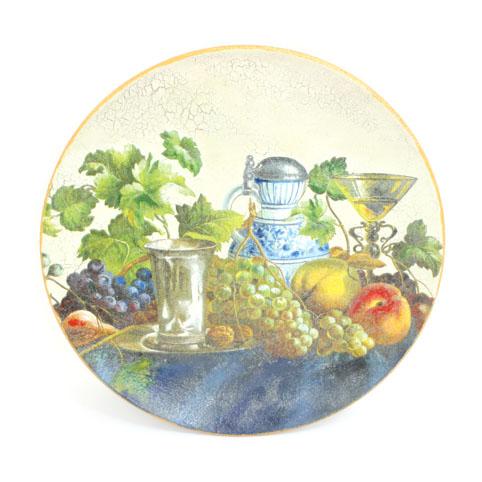 «Вино и виноград». Декоративная тарелка