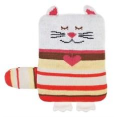 Игрушка-грелка Довольный котик