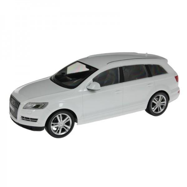 Белая радиоуправляемая машина Audi Q7
