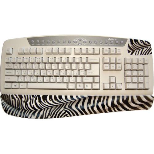Клавиатура расписная «Зебра»