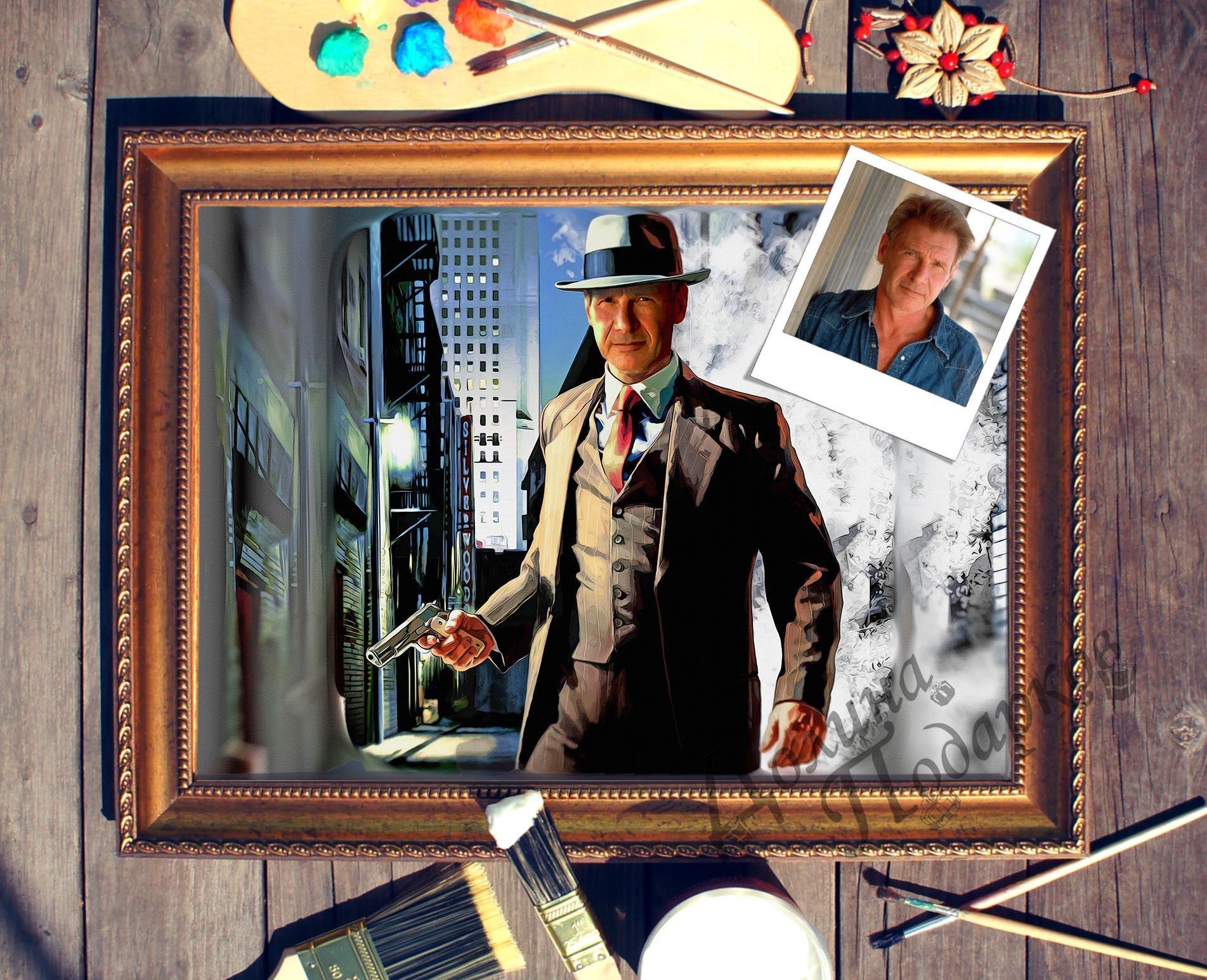 Портрет по фото Детектив