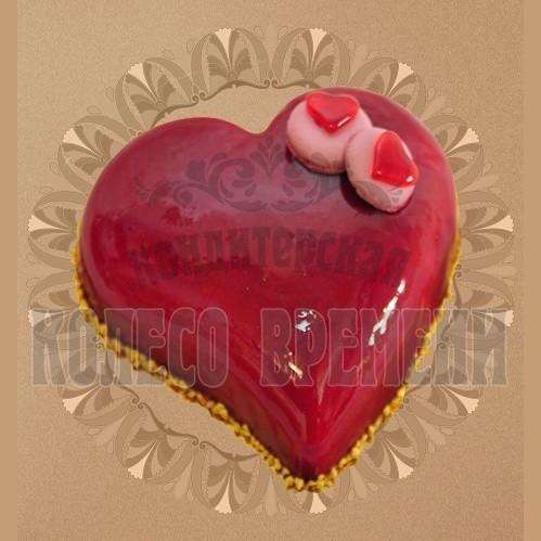 Тортик «Вишневое сердце»
