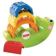Игрушка-пирамидка Fisher-Price Крокодильчик