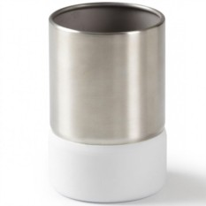 Белый стакан для ванной Ensa