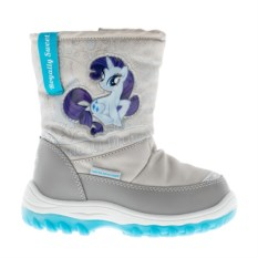 Светло-серые сноубутсы My Little Pony