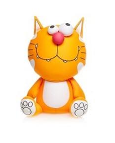 Игрушка-антистресс Кот пучеглазый зубатый