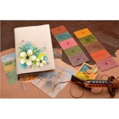 Ежедневник Цветочный орнамент