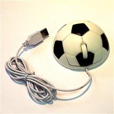 Мышь для ПК в виде футбольного мяча