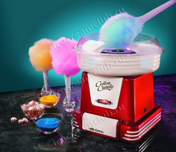 Прибор для приготовления сладкой/сахарной ваты Ariete 2971