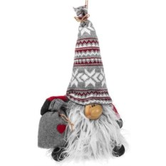 Декоративная кукла Гномик с мешочком