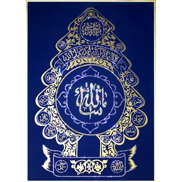 Картина с кристаллами Swarovski Дерево Ислама