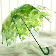 Прозрачный зонт Зеленая рапсодия