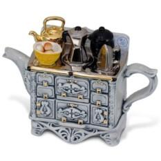 Большой серый чудо-чайник «Французский завтрак