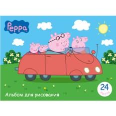 Альбом для рисования Peppa Pig