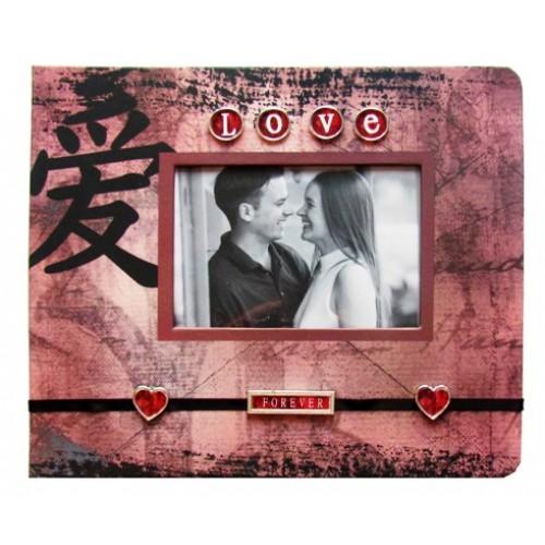 Фотоальбом дизайнерский Любовь навсегда на 120 фото