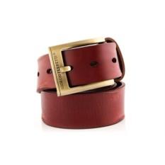 Терракотовый мужской кожаный ремень G.Ferretti тип 38-8