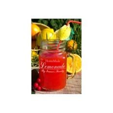 Кружка-банка с вашим текстом Homemade Lemonade