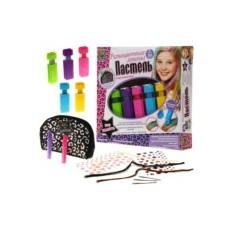 Развивающий набор для девочек «Разноцветные локоны»
