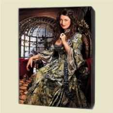 Портрет по фото в историческом образе (60x80 см)