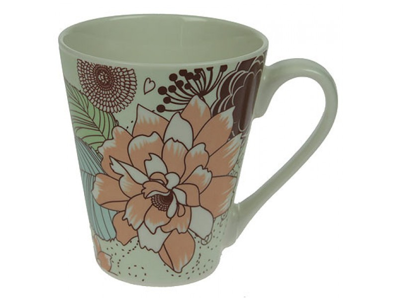 Кружка для чая Осенние цветы