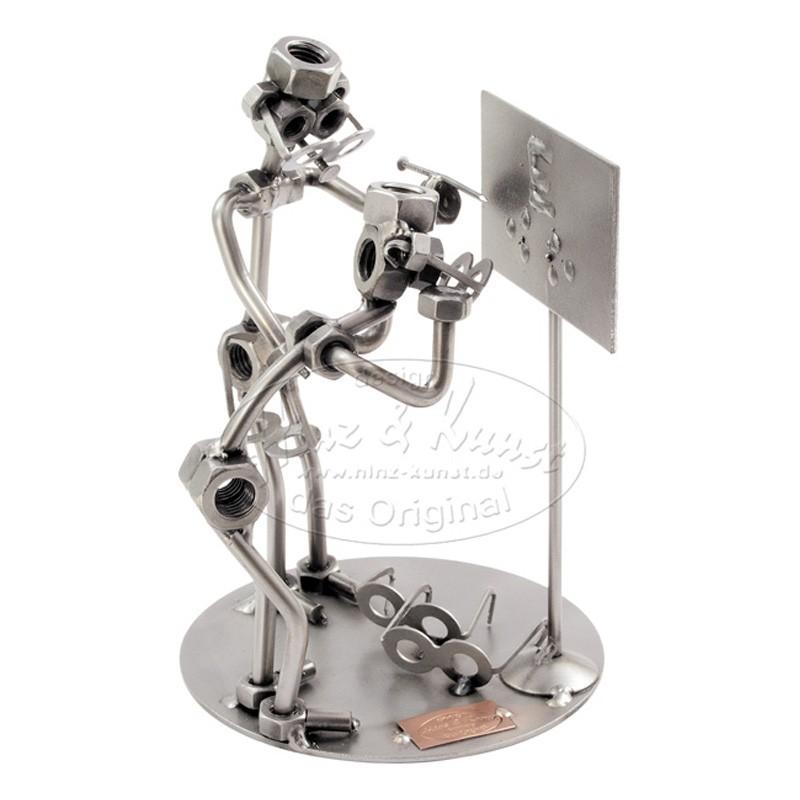 Статуэтка из металла Офтальмолог