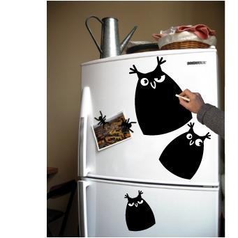 БоуБоу, Поу и Чоу на холодильник